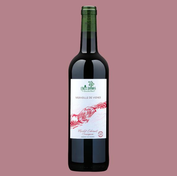 Merlot - Cabernet Sauvignon - Merveille de vignes