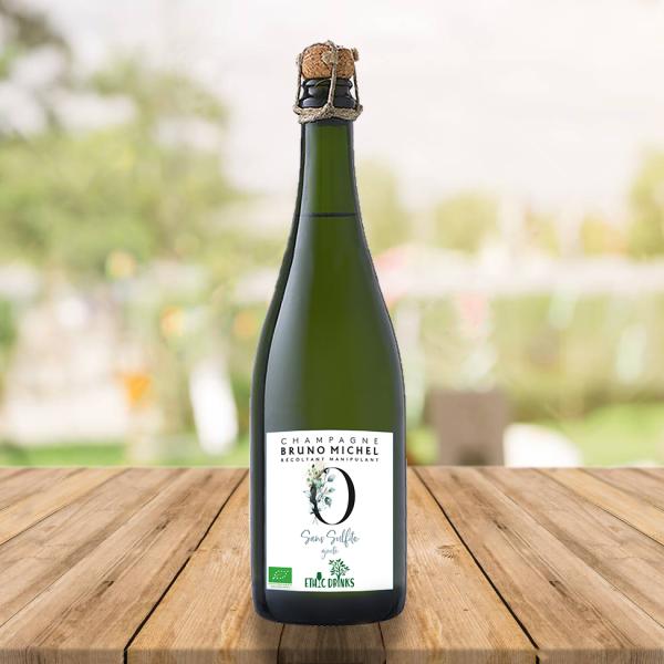 Champagne 0 sulfite Bio