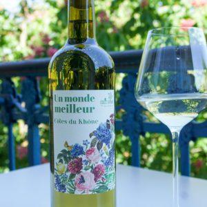 Côtes du Rhône Blanc Bio - Un monde meilleur