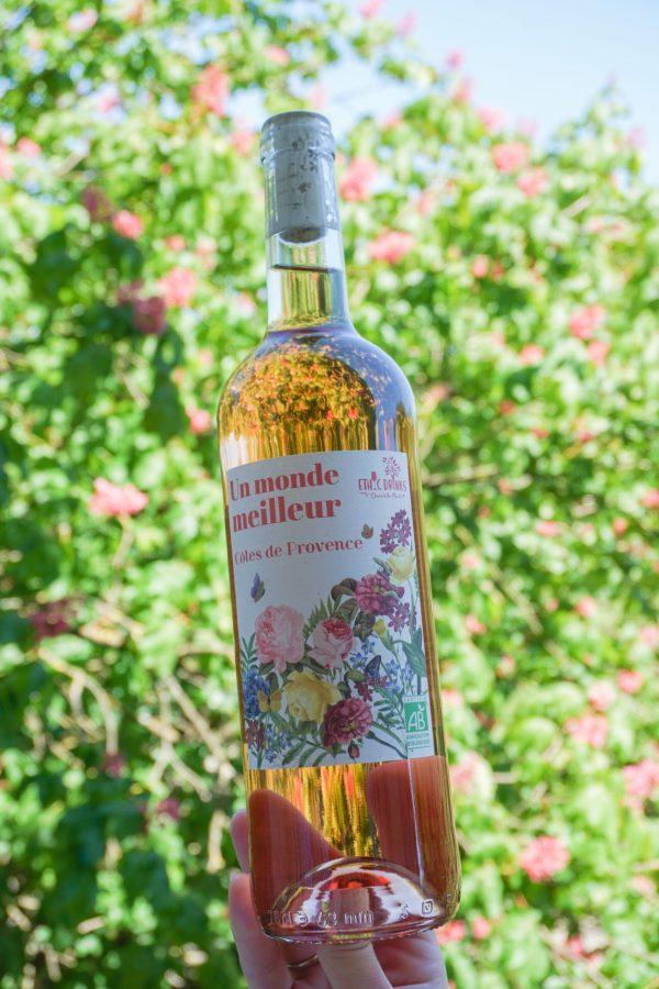 Rosé Côtes de Provence Bio - Un monde meilleur