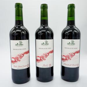 Coffret Découverte vins rouges - Merveille de vigne