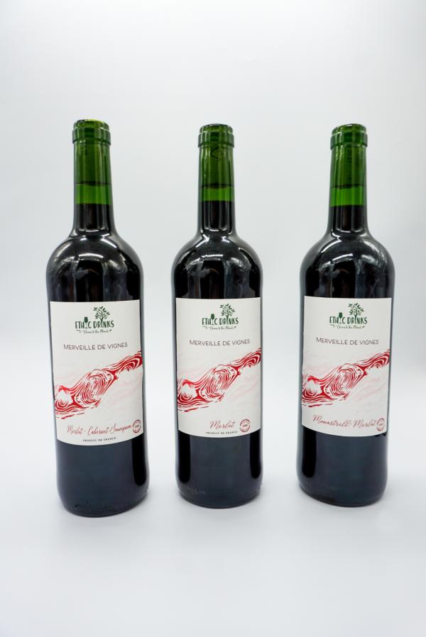Coffret Découverte vins rouges - Merveille de vignes