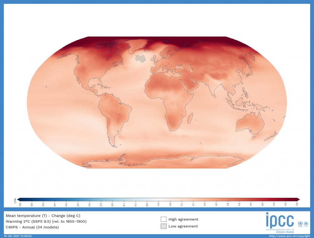 Réchauffement climatique - Planète Terre