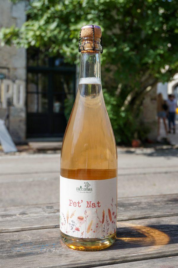 Pet' Nat rosé Bio