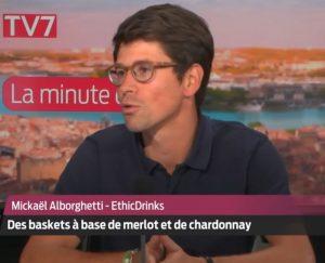 La minute éco - des baskets à base de vins - EthicDrinks