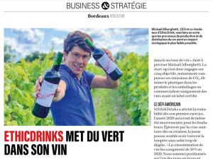 Business & Stratégie - EthicDrinks