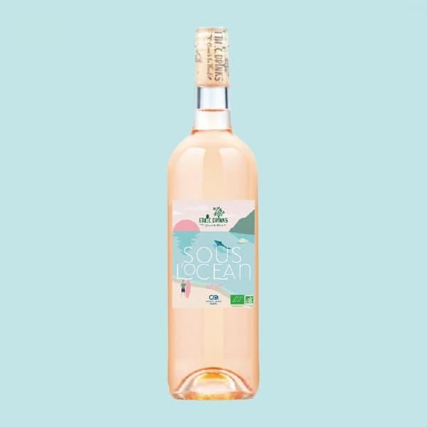 Vin Bio Rosé - Sous l'Océan - EthicDrinks
