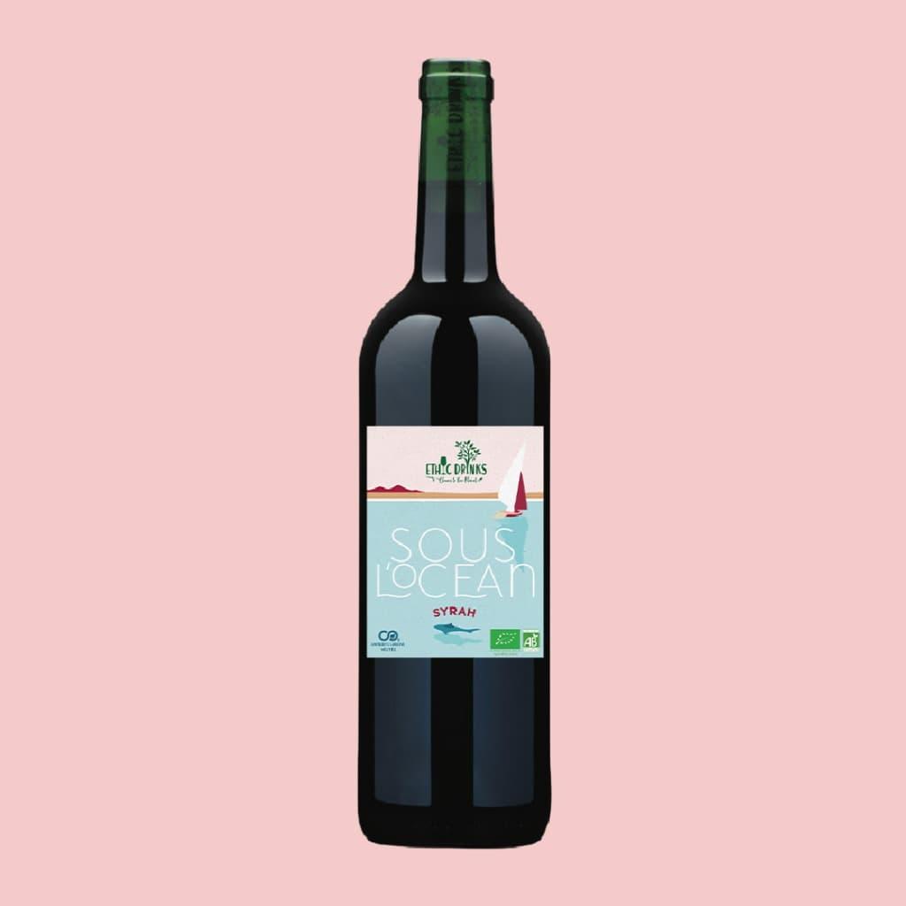 Vin rouge Bio - Syrah Bio - Sous l'Océan - EthicDrinks