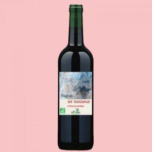 Vague de bonheur - Côtes du Rhône - Vin bio Rouge - Ethicdrinks