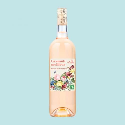 Rose-Cotes-de Provence Bio - Un monde meilleur